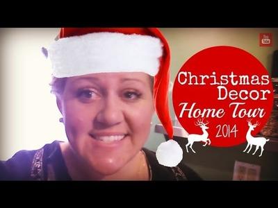 Christmas Decor Home Tour 2014