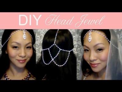 {CLARE} Wedding Head Jewel : DIY Tutorial