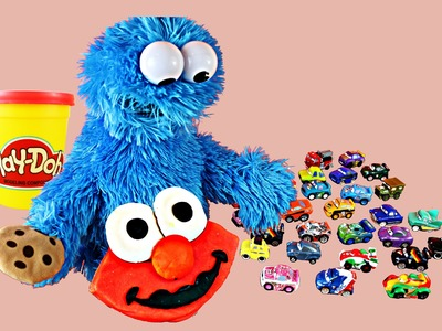 Cookie Monster Play Doh 12 Cookies of Christmas DIY New Playdough Cookie Each Day - Day 11