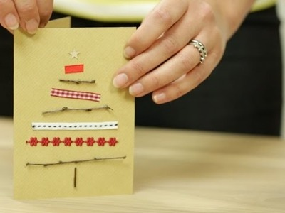 Craft corner: How to make a personalised Christmas card