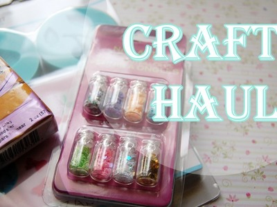 Craft Haul: Dollar Tree, A.C. Moore, THANKS FOR 2.5K!+Mini Update!