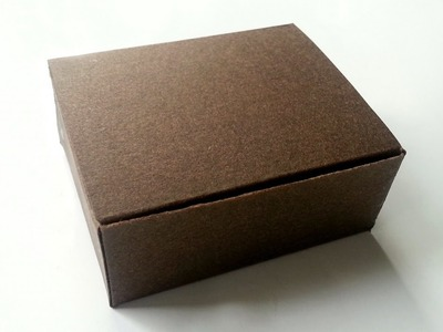 Create a Simple Card Stock Gift Box - DIY Crafts - Guidecentral