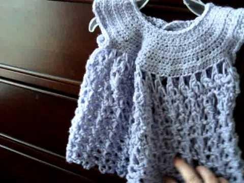 Crochet solomons knot dress