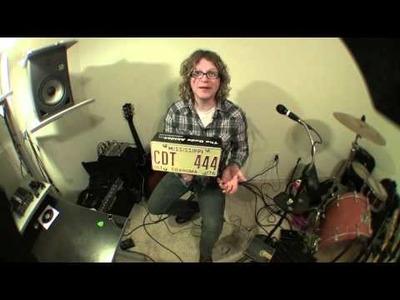 DIY - Build Your Own Stomp Box (Foot drum)