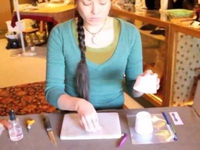 DIY Drying Rack for Metal Clay