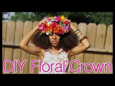 DIY Floral Headband- SugarStilettosStyle