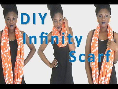DIY: How to Sew Your Own Infinity Scarf Made Easy