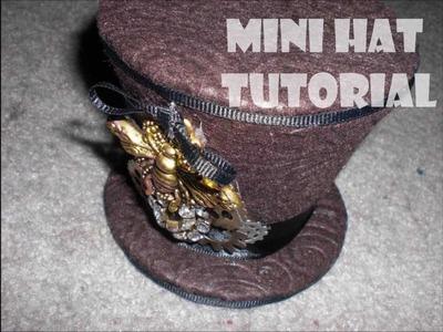 DIY Mini Hat Tutorial