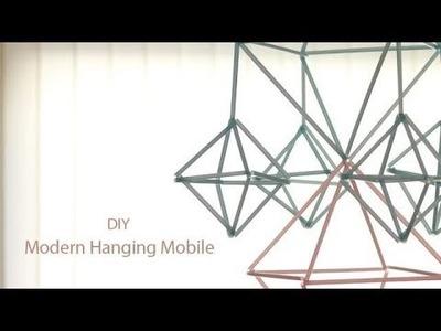 DIY: Modern Himmeli Mobile | Ventuno Art All the Way