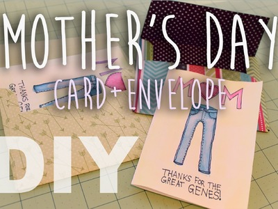 ♡ DIY Mother's Day Card + Envelope! ♡