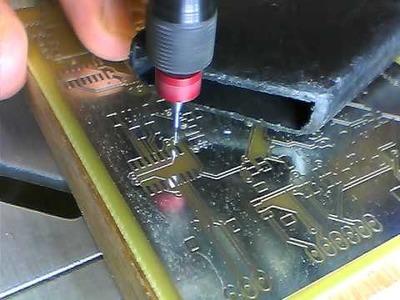 DIY PCB Part-1 Drilling