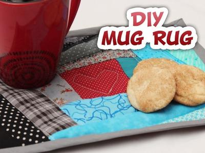 DIY Quilted Mug Rug Tutorial - Whitney Sews