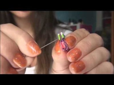 DIY: Starburst Wrapper Earrings