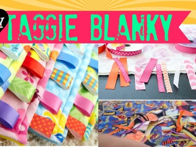 DIY Taggie Blanky for Babies - 2 minute tutorials
