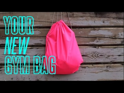EASY DIY GYM BAG