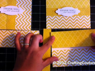Easy Greeting Card Assembly Line Tutorial