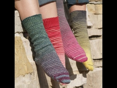Episode 10 ~ Knitcircus Gradient Stripes Matching Socks Set Giveaway!