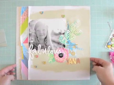 """Fabulous Jana"" scrapbooking Video by Wilna Furstenberg"