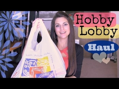 Hobby Lobby Haul - Craft Supplies, Valentines Decor, & More.