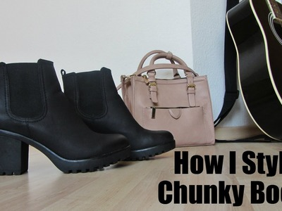 How I Style Chunky Boots
