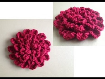 How to Crochet a Flower Pattern #10 by ThePatterfamily