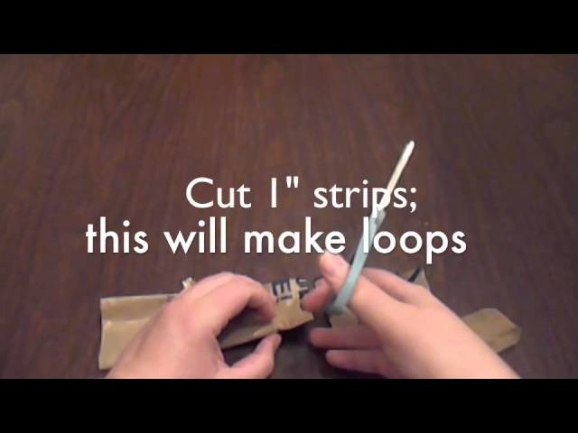 How to Make 2 ply Plarn (Plastic Yarn)