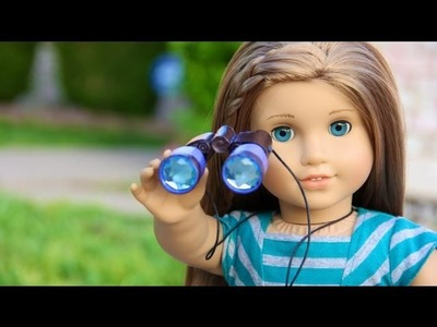 How to Make a Doll Telescope and Binoculars - Doll Crafts