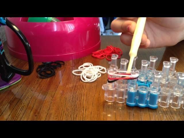 How To Make A Fishtail Bracelet On The Rainbow Loom