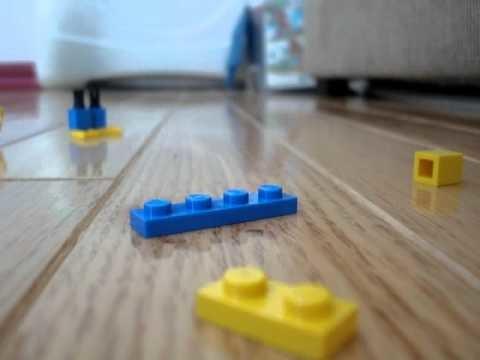 How to make a lego minion