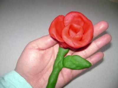 How to make a play-doh rose - EP