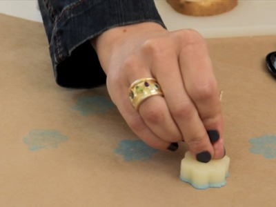 How to Make a Potato Stamp - Let's Craft with ModernMom