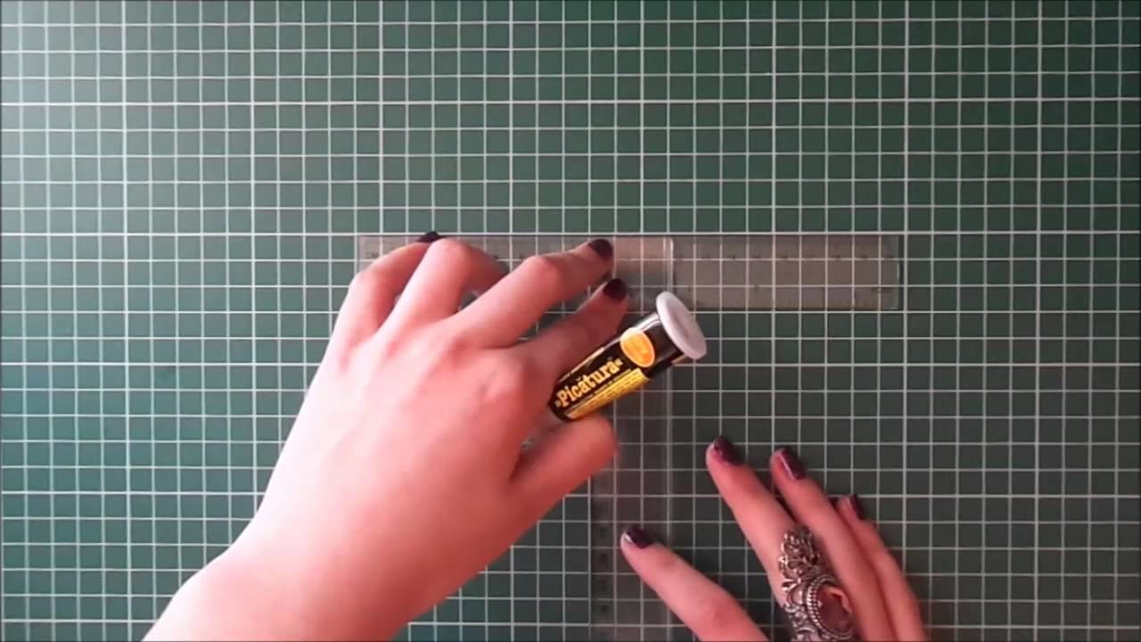 How to make a T ruler