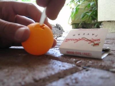 How to make an easy home made smoke bomb