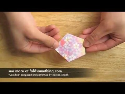 How to make an origami cherry blossom
