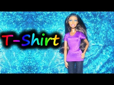 How to make doll clothes - T-shirt