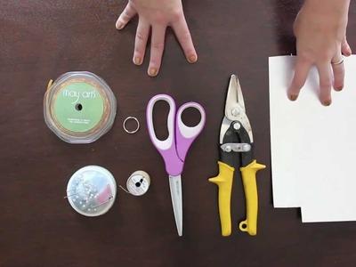 How-to: Velvet Ribbon Tassel | HandsOccupied.com