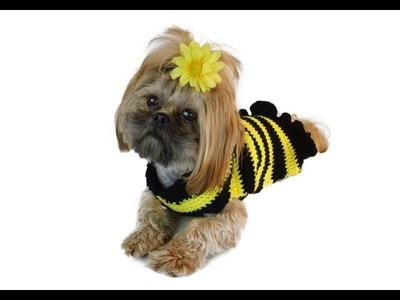 Left Hand Tutorial - Crochet Dog Sweater Pattern