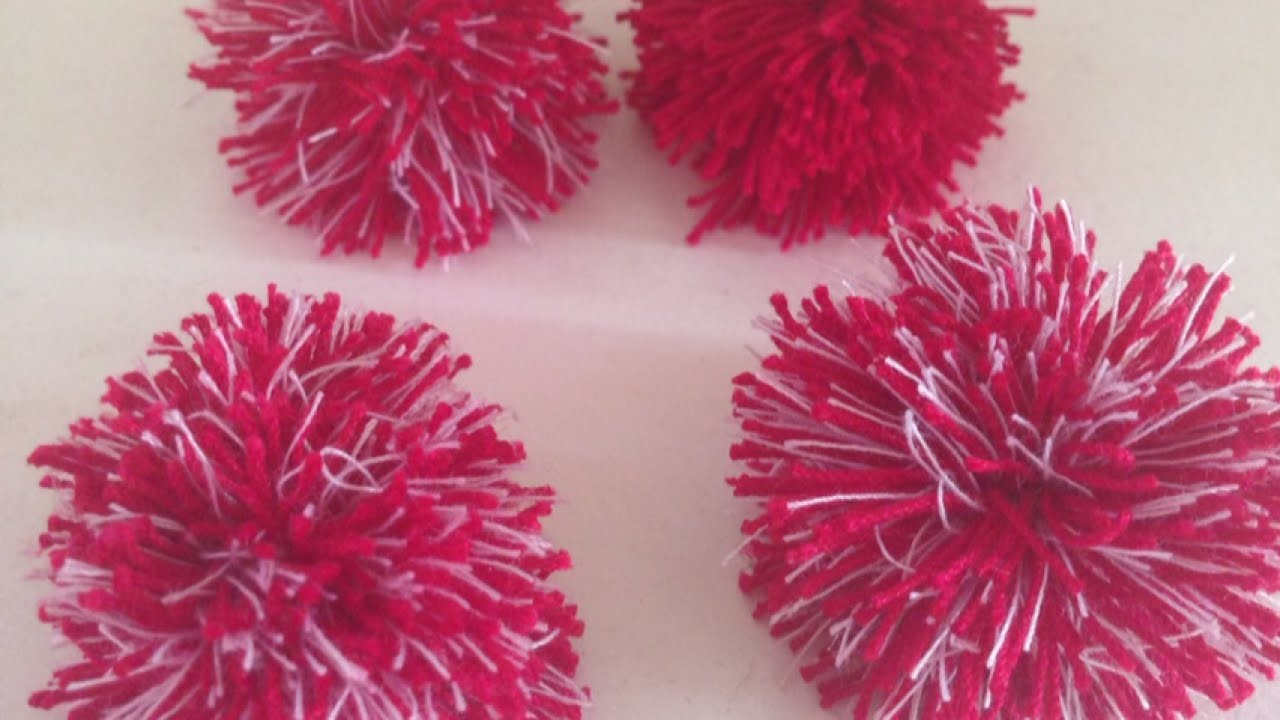 Make Cute and Easy Mini Pom-Poms - DIY Crafts - Guidecentral