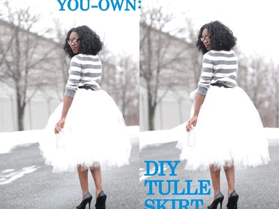 Make-It-Your-Own: Tulle Skirt (No-Sew Method)