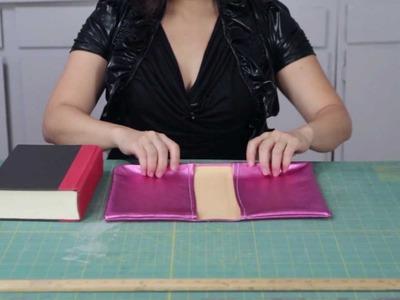MJTrends DIY Metallic Pink Snakeskin Book Cover