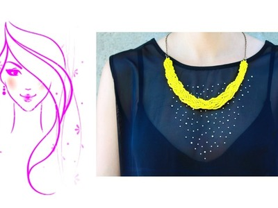 MORENA DIY: HOW TO MAKE BRAIDED BEAD NECKLACE