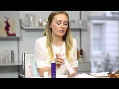 NUXE tutorial for a DIY detox facial