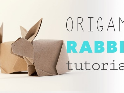 Origami Bunny Rabbit Tutorial V2