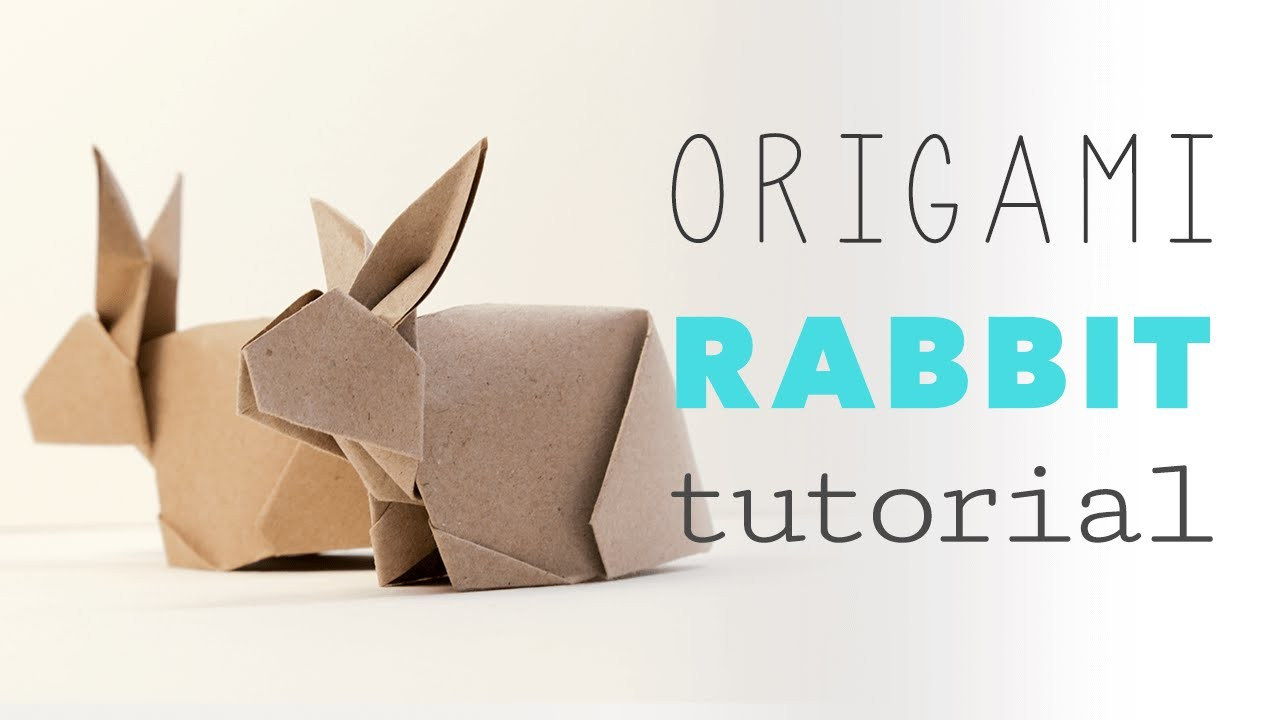 how to make an origami bunny easy