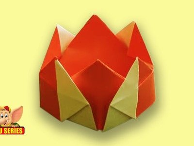 Origami - How to make a Crown