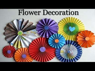 Paper Rosettes - Beautiful flowers for decoration - DIY Tutorials - Giulia's Art