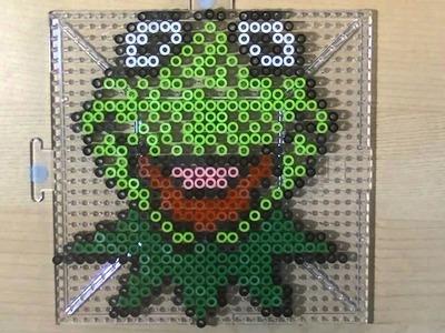 PERLER BEAD: Kermit the Frog! (Giveaway #29)