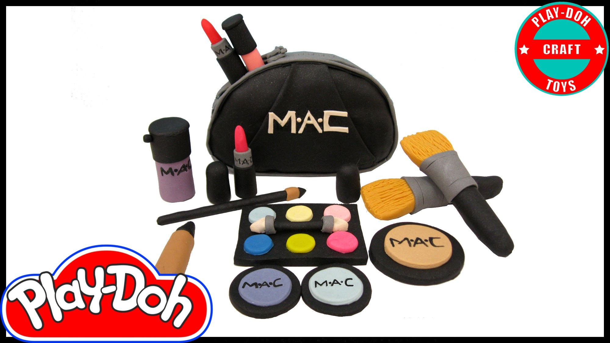 Play Doh MAC Makeup  Inspired by Play-Doh Craft N Toys