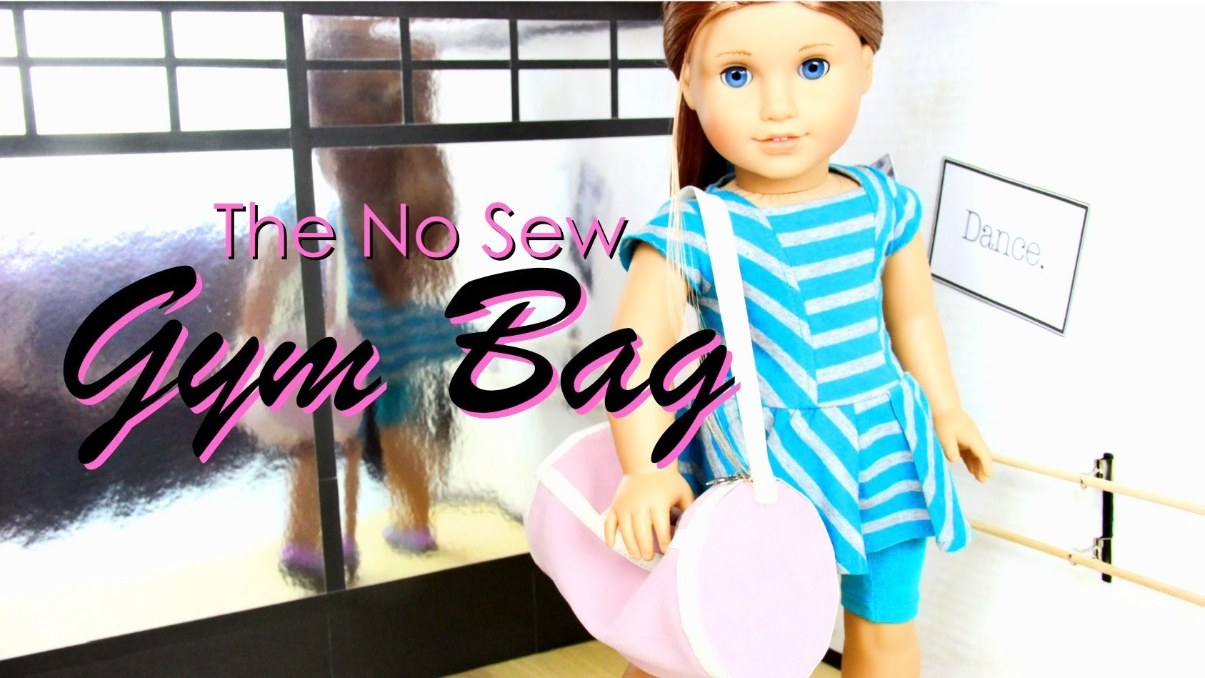 Quick Craft : The No Sew Gym Bag - Doll Crafts