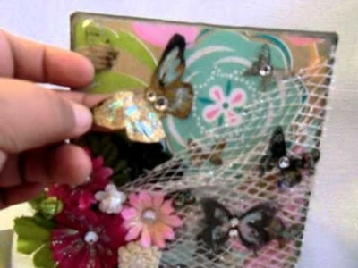 SCRAPBOOKING MINI ALBUM CARD ATC BY ITZA